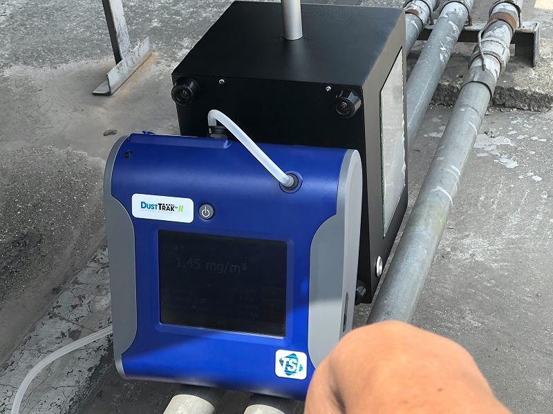 便携式油烟监测设备