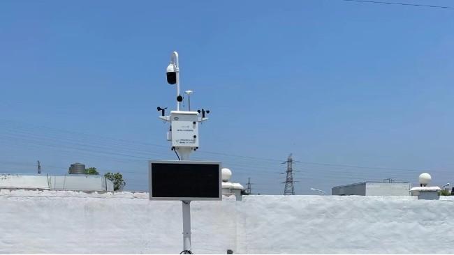 扬尘监测设备监测点位与设备安装的要求